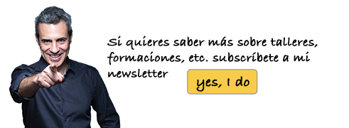 Yes, I do. Subscríbete a mi newsletter